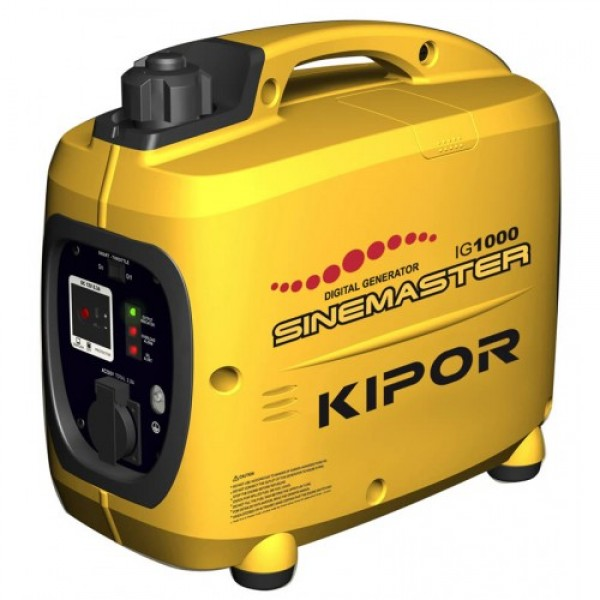 KIPOR - IG 1000 Βενζινοκίνητη Inverter ηλεκτρογεννήτρια 1.0 KVA